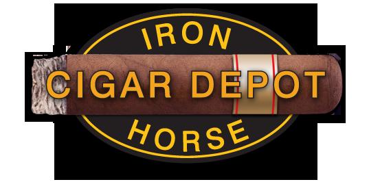 Iron Horse Cigar Depot logo