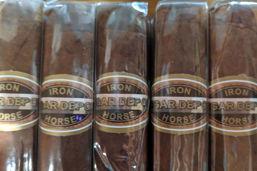 Iron Horse Cigar Depot brand cigars