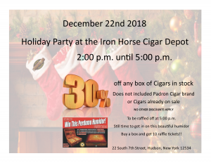 Holiday Party at the Iron Horse information