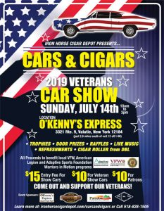 Cars and Cigars flyer